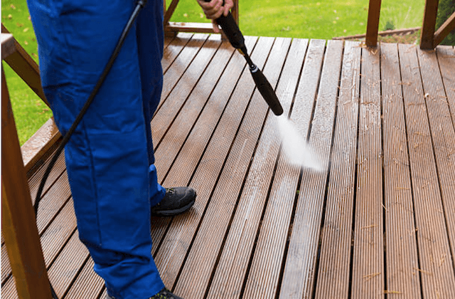 troy deck cleaning