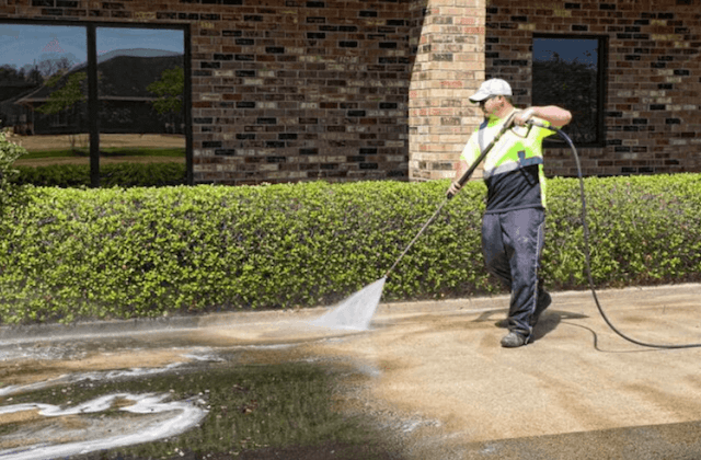 commercial concrete cleaning in troy